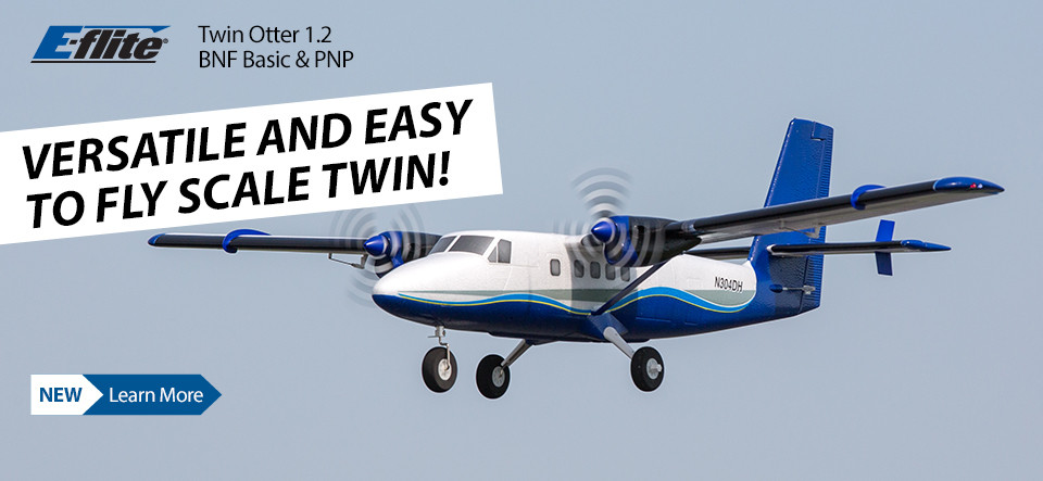 E-flite Twin Otter 1.2m BNF Basic and PNP