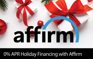 0 percent APR Holiday Financing with Affirm