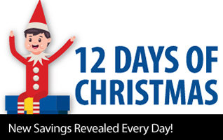 Celebrating the Holidays with 12 Days of Christmas - Check back daily for new savings