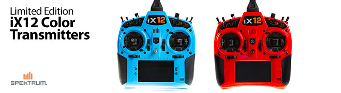 Spektrum iX12 Limited Edition Color Transmitters