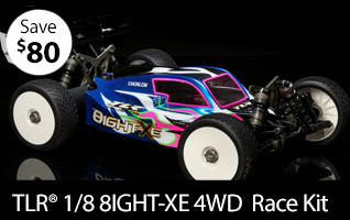 TLR 1/8 8IGHT-XE 4WD Electric Buggy Race Kit