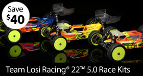 Price Cut! Team Losi Racing 1/10 22 5.0 2WD Racing Kits