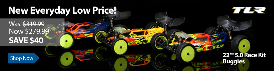 New Everyday Low Price on TLR 22 5.0 Race Kit Buggies