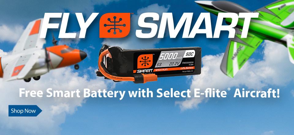 Fly Smart with Free Spektrum Smart Batteries