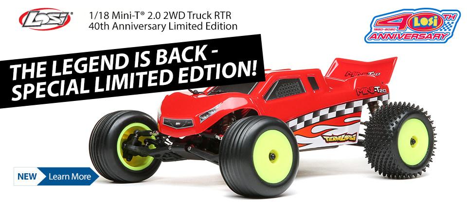 Losi Mini-T 40th Anniversary Limited Edition