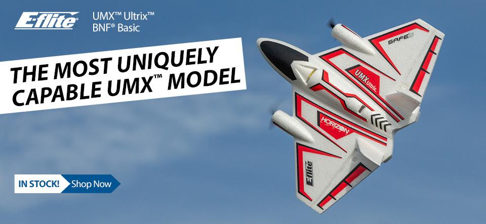 NEW! E-flite UMX Ultrix