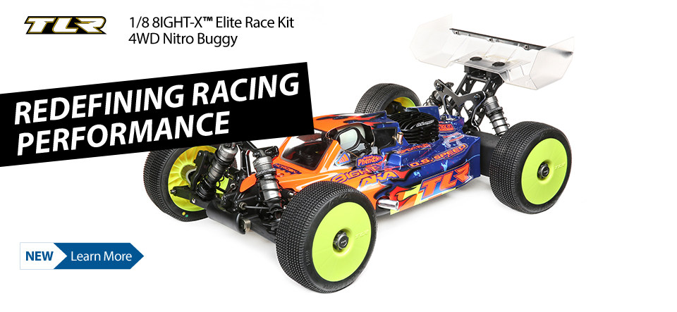 TLR 8IGHT-X Elite Race Kit 1/8 4WD Nitro Buggy