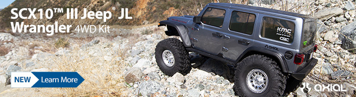 New! Axial SCX10 III Kit with Portals