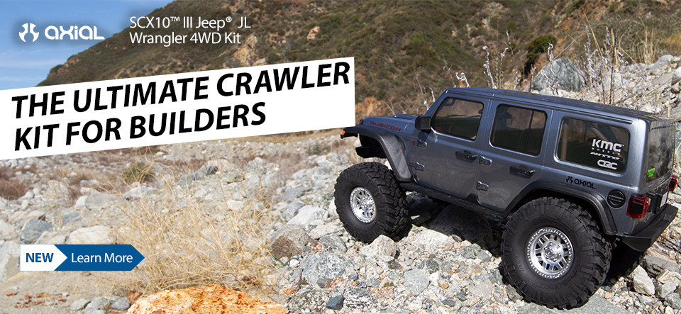 Axial SCX10 III Jeep JLU Wrangler Kit