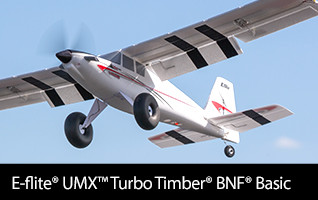 E-flite UMX Turbo Timber BNF Basic