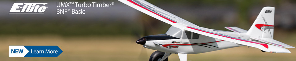 New! E-flite UMX Turbo Timber BNF Basic