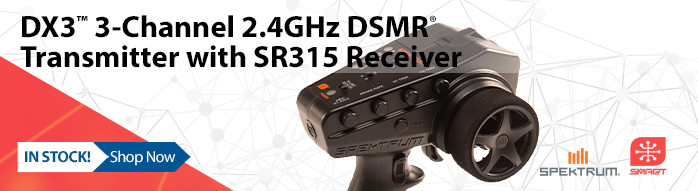 New! Spektrum DX3 Smart DSMR Transmitter