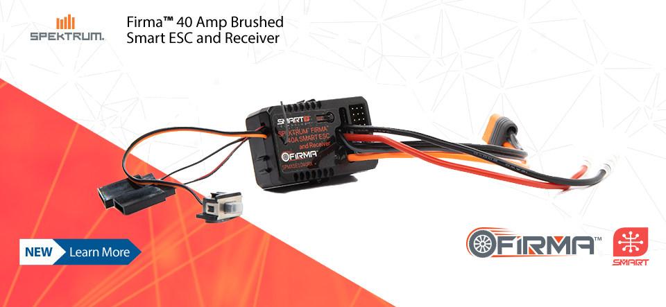 Spektrum Firma 40 Amp Brushed Smart ESC and Receiver