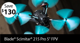Price Cut! Blade Scimitar 215 Pro BNF Basic