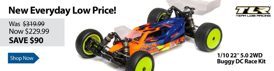 New Everyday Low Price on TLR 1/10 22 5.0 2WD Buggy DC Race Kit
