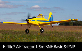 E-flite Air Tractor 1.5m BNF Basic & PNP