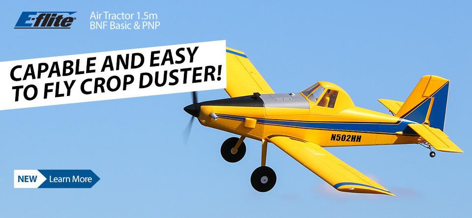 NEW! E-flite Air Tractor 1.5m