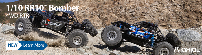 New! Axial RR10 Bomber RTR