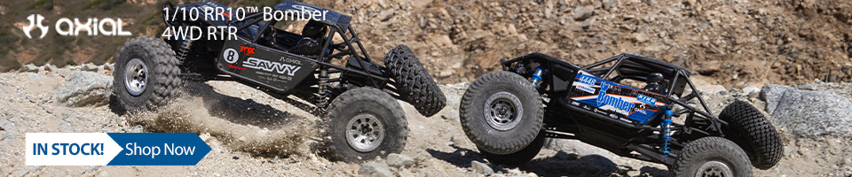 In Stock! Axial RR10 Bomber RTR