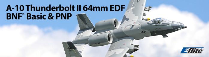 E-flite A-10 BNF Basic & PNP