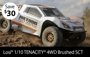 Losi 1/10 TENACITY 4WD Brushed SCT