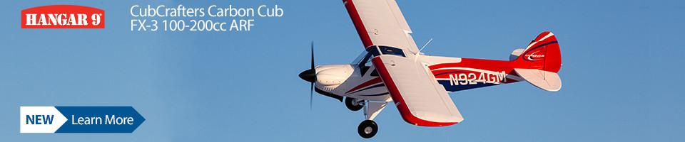 New! Hangar 9 CubCrafters 100-200cc ARF