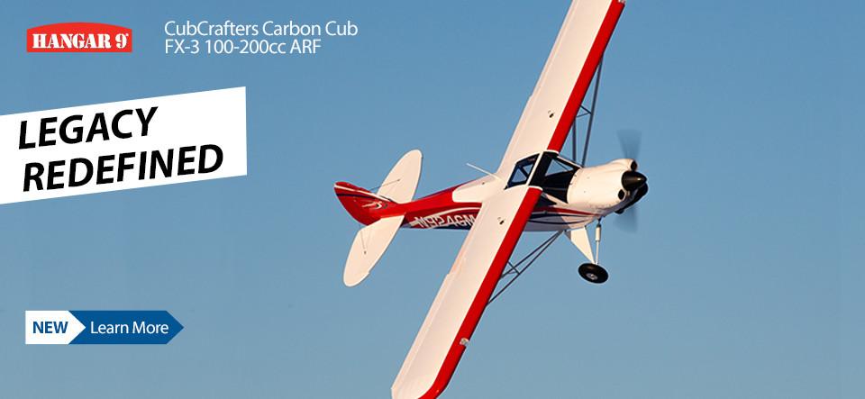 Hangar 9 CubCrafters Carbon Cub FX-3 ARF