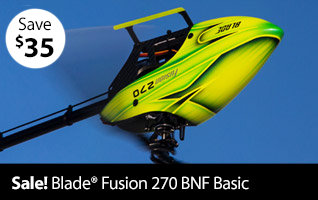 Save 35$ on Blade Fusion 270 BNF Basic