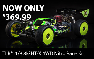 TLR 8IGHT-X Nitro Buggy NOW ONLY $369.99