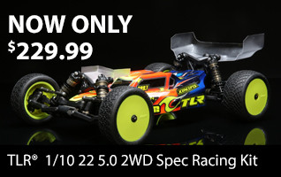 TLR 22 5.0 SR NOW ONLY $229.99