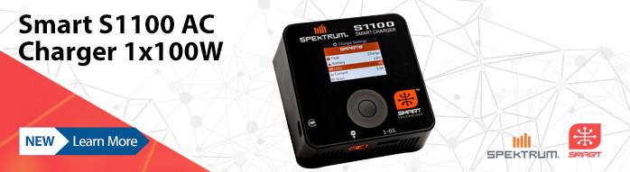 New! Spektrum Smart S1100 Charger