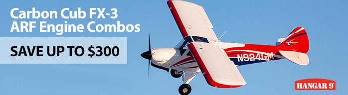Hangar 9 Carbon Cub FX-3 Combos