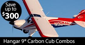 Hangar 9 CubCrafters Carbon Cub FX-3 100-200cc ARF
