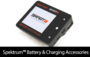 Spektrum Smart Battery and Charging Accessories
