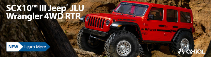New! Axial SCX10 III RTR with Portals