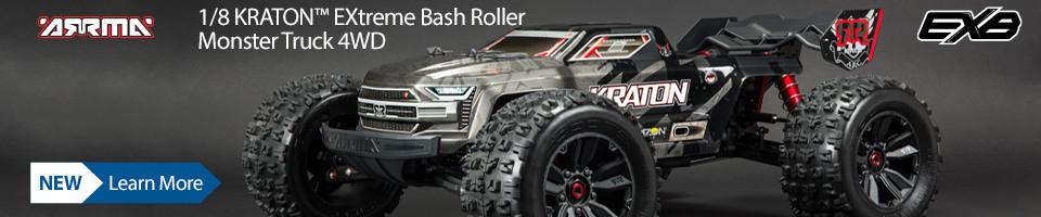 New! ARRMA KRATON EXtreme Roller
