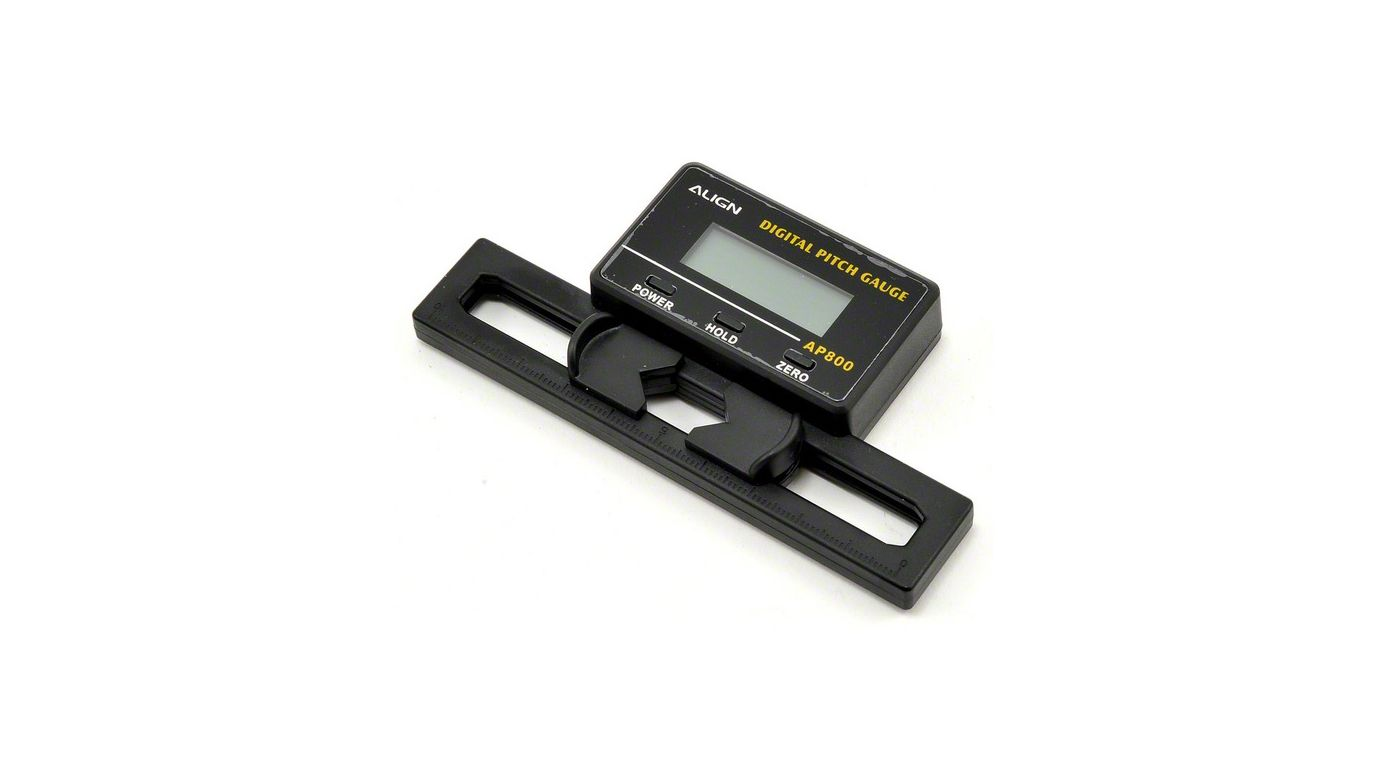Electronic Measuring Devices For Pickups : Digital pitch gauge horizon hobby