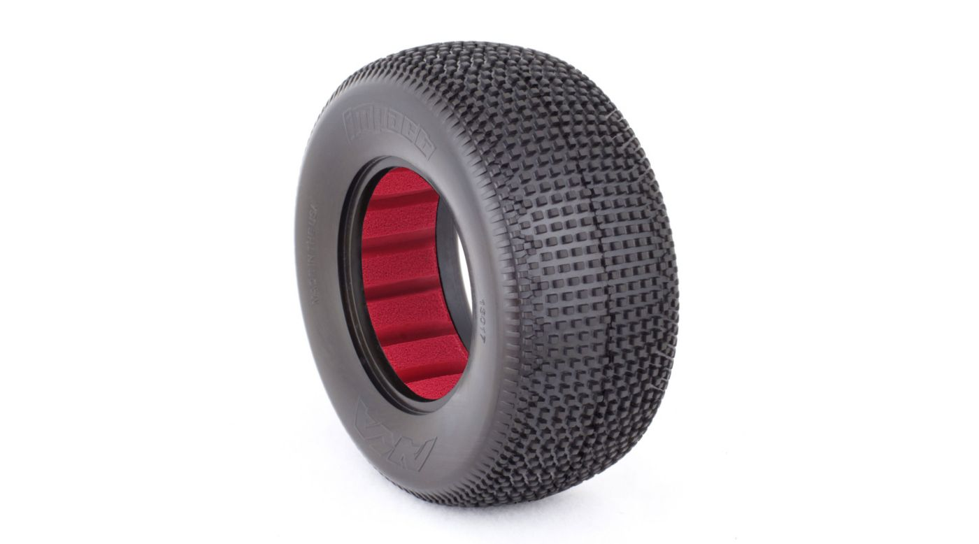 Image for 1/10 Impact SC Wide Super Soft Front/Rear Tire with Red Insert (2) from HorizonHobby
