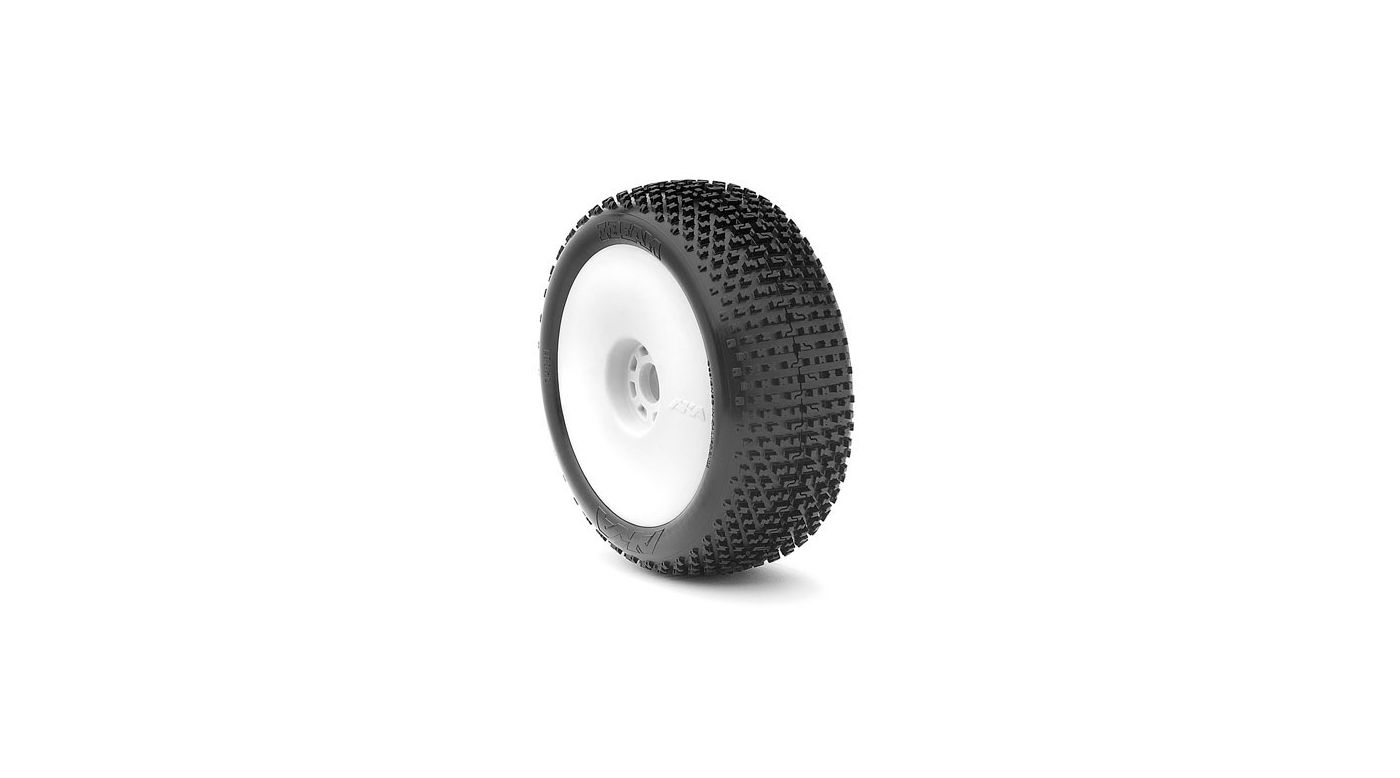 Image for 1/8 I-Beam EVO Soft Front/Rear Tire Mounted, White: Buggy (2) from HorizonHobby