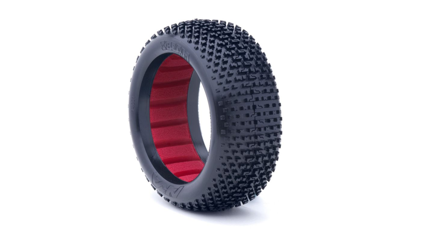 Image for 1/8 I-Beam Soft Front/Rear Tire with Red Insert: Buggy (2) from HorizonHobby