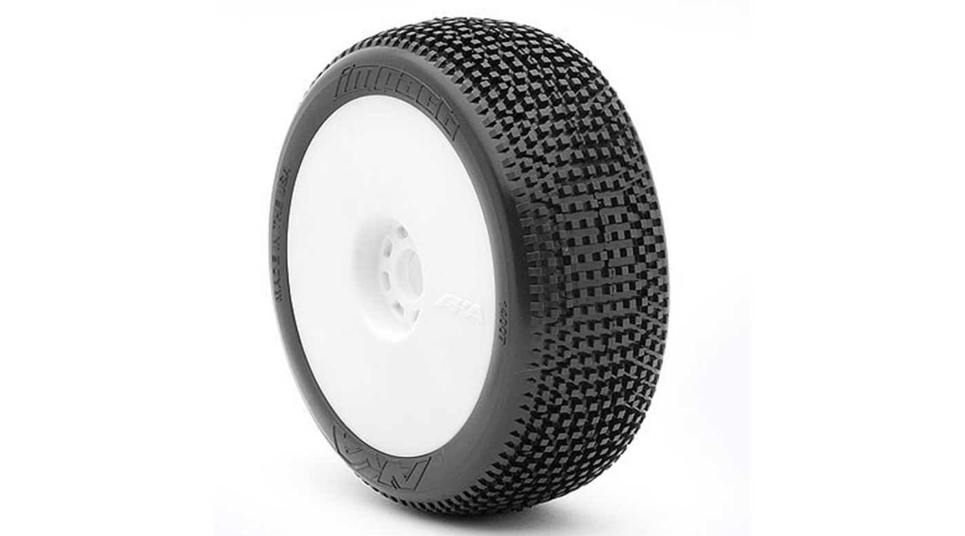 Image for 1/8 Impact EVO Soft Front/Rear Wheel Mounted, White: Buggy (2) from HorizonHobby