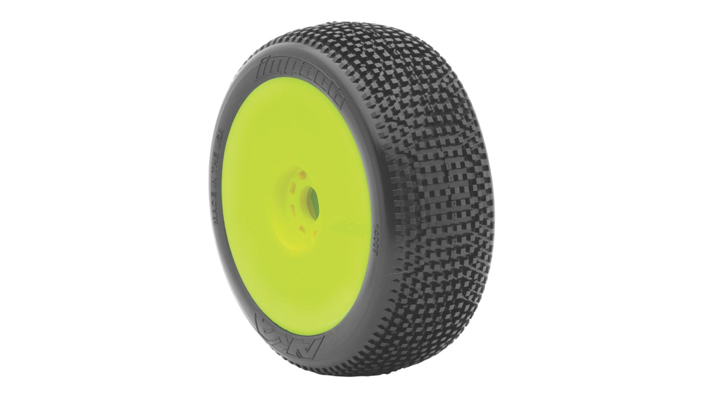 Image for 1/8 Impact EVO Soft Front/Rear Wheel Mounted, Yellow: Buggy (2) from HorizonHobby