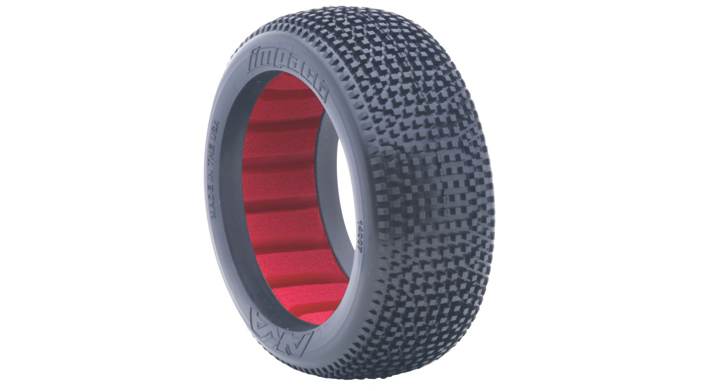 Image for 1/8 Impact Soft Front/Rear Tire with Red Insert: Buggy (2) from HorizonHobby