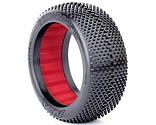 AKA PRODUCTS INC. - 1/8 Gridiron II Soft Front/Rear Tire with Red Insert: Buggy (2)