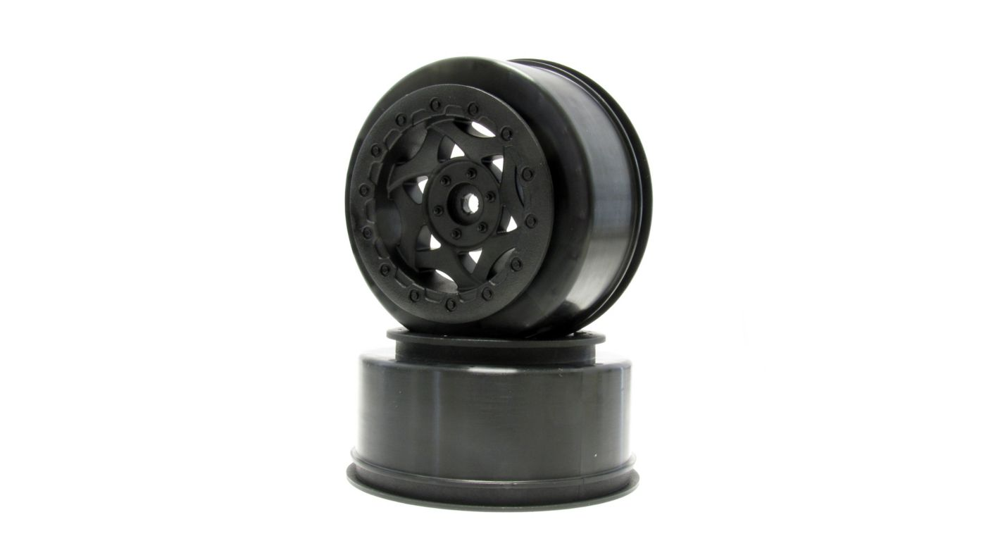 Image for 1/10 Cyclone SC Front/Rear Wheel, Black: Slash 4x4, Blitz, SCRT10 (2) from HorizonHobby