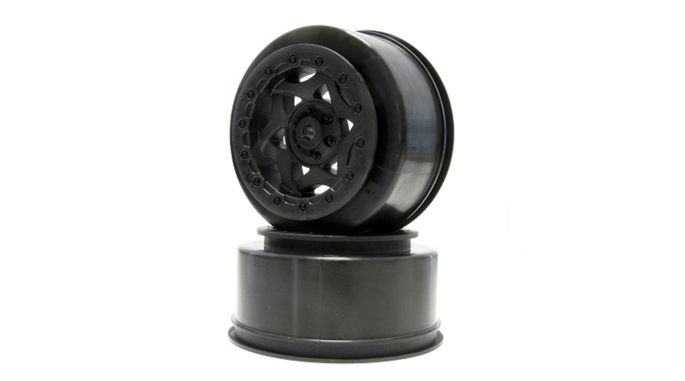 Image for 1/10 Cyclone SC Front/Rear Wheel: SC10 4X4 (2) from HorizonHobby