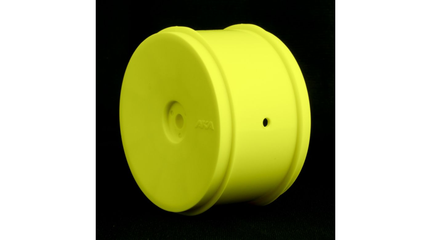 Image for 1/10 Buggy EVO Rear Wheel, Yellow: KYO, ASC, TLR (2) from HorizonHobby