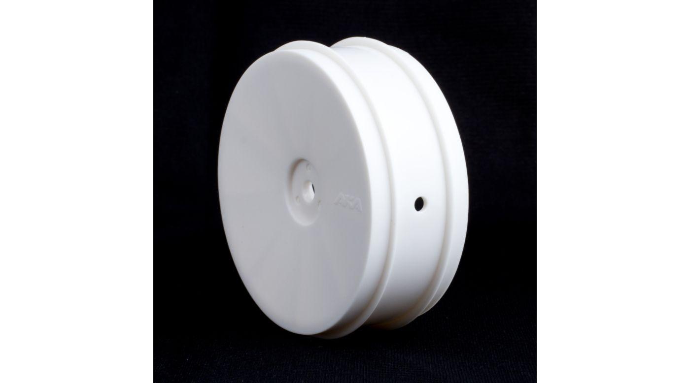 Image for 1/10 Buggy EVO Front Wheel, White: ASC, KYO (2) from HorizonHobby