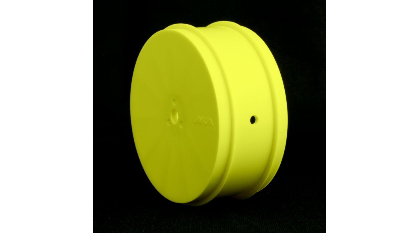 Image for 1/10 Buggy EVO 4WD Front Wheel, Yellow: LOSI (2) from HorizonHobby