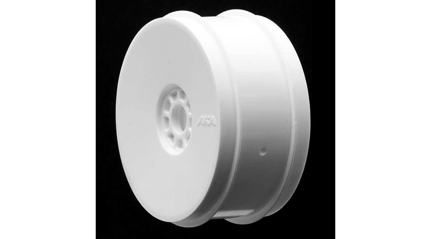 Image for 1/8 EVO Front/Rear Wheels, White: Buggy (4) from HorizonHobby